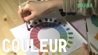Peinture : Couleurs primaires et mélange de couleurs - HD