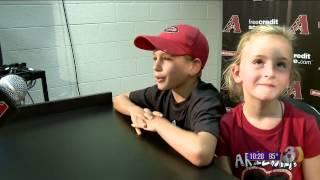 Arizona Diamondbacks honor kids who used their birthdays to give to Camp Soaring Eagle.