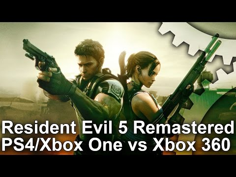 Face-Off: Resident Evil 5 Remastered • Eurogamer net