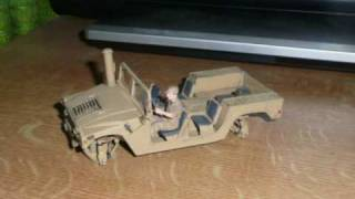 HMMWV Static Model Building Stopmotion