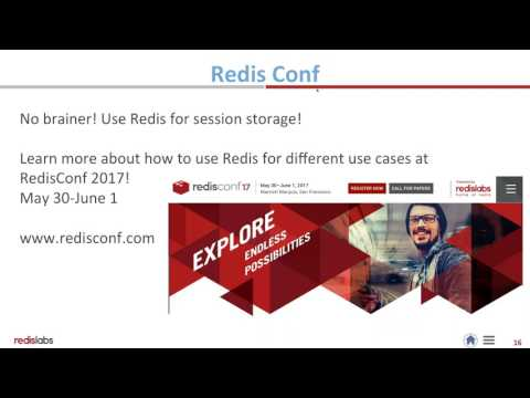 HTTP Session caching with Redis Enterprise