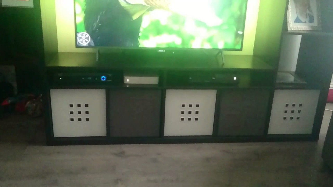 Ikea Lappland Unit With Philips Amber Light 49 Inch 4k