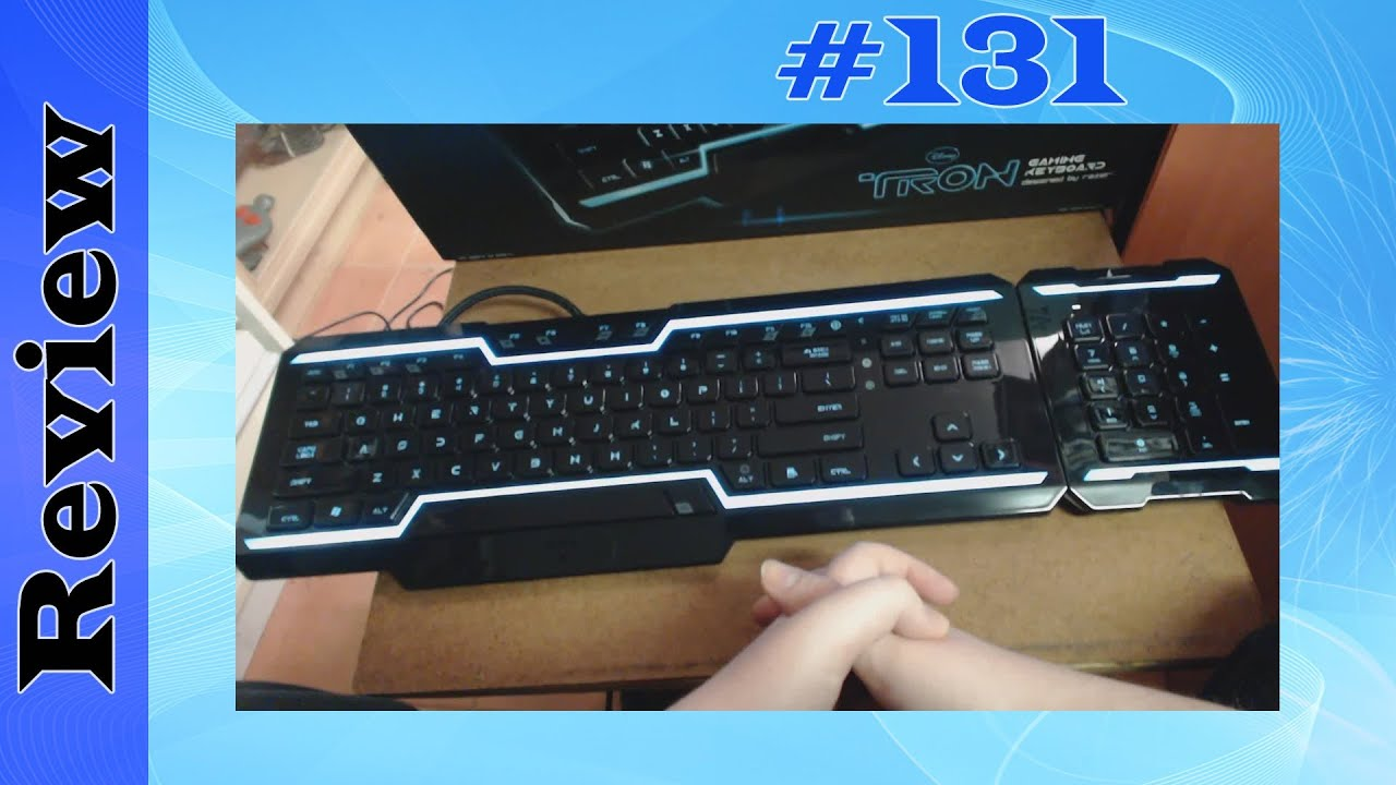 8134c21feb1 Razer Tron Gaming Keyboard (PC) Unboxing & Review - YouTube