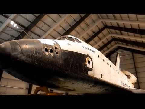 Space Shuttle Endeavour 360 degree video at California Science Center