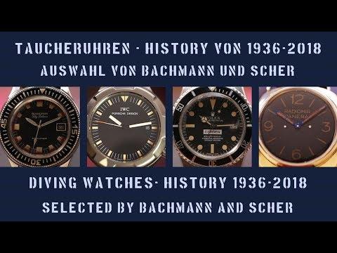 Die Evolution der Taucheruhr - Bachmann & Scher