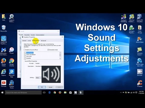 How To Change Windows Sounds & Windows 10 Sound Settings - Free & Easy 2016