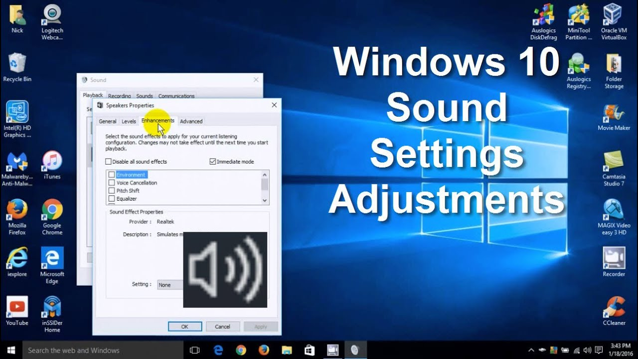 low mic sound windows 10