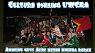 UWCES Culture evening guyss So many different culture in here guysssss