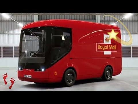Royal mail's new electric delivery trucks