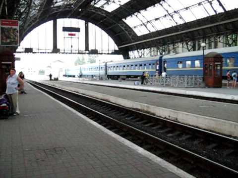 Train 136Л Chernivtsi - Odessa in Lviv