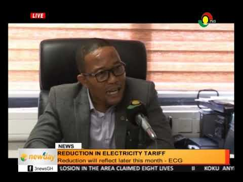 TV3 NEW DAY - REDUCTION OF ELECTRICITY TARIFF