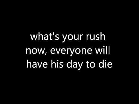 The Outsider (Apocalypse Mix) Soundtrack Resident Evil Afterlife Lyrics