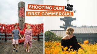 Shooting Our First Commercial | China Vlog