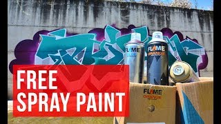 FREE Spray Paint NOW! - BOMBING SCIENCE