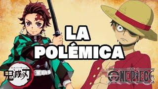 LA POLÉMICA DE ONE PIECE VS. KIMETSU NO YAIBA