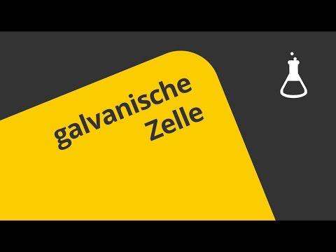 Wie funktioniert die galvanische Zelle? | Chemie | Allgemeine und anorganische Chemie