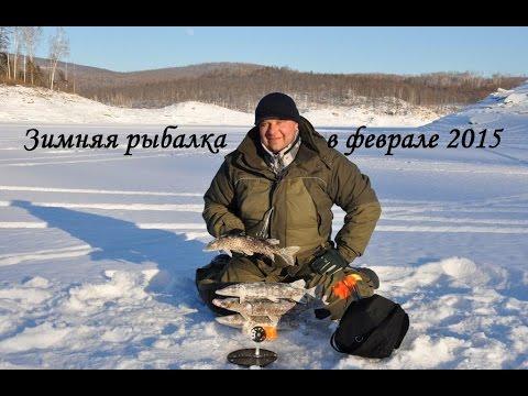 Зимняя рыбалка на жерлицы 2015 год FISHINGALTSEV