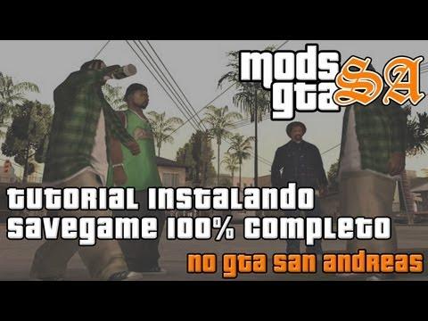 SAVE ANDREAS DO SAN O ZERADO BAIXAR GTA GAME