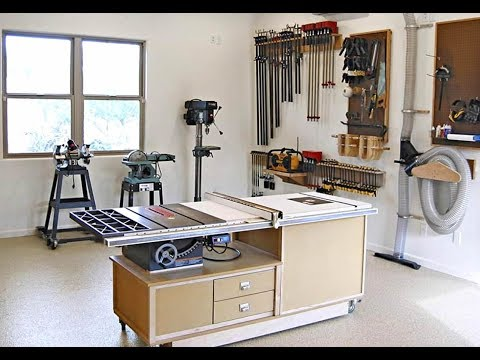 Best Small Woodworking Shop Layout - Woodworking Shop Layout – Shop Tour 2019 | DIY Workshop Ideas