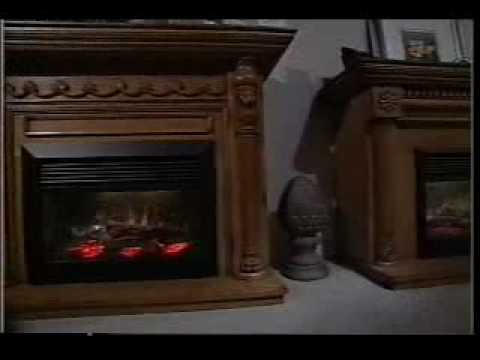 Dimplex Symphony Electric Fireplaces - YouTube
