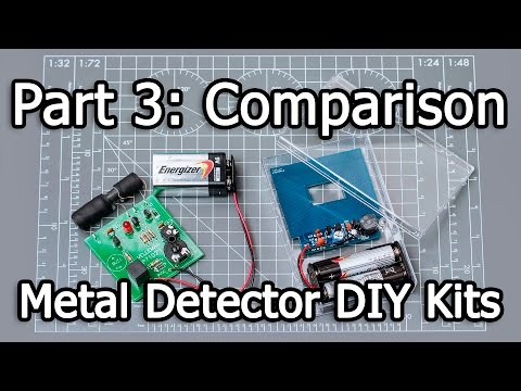 Metal Detector DIY Kits - Part 3/3 - China vs Belgium
