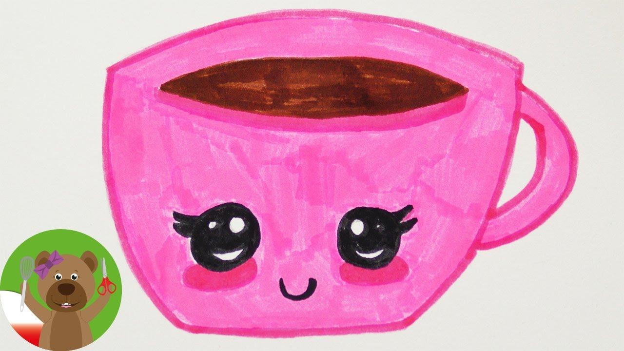malowanie i rysowanie dla dzieci obrazek kawaii fili anka pomys na kartk urodzinow youtube. Black Bedroom Furniture Sets. Home Design Ideas