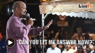 Video Arul Kanda grilled by vocal Bangsar folk over 1MDB download MP3, 3GP, MP4, WEBM, AVI, FLV September 2018