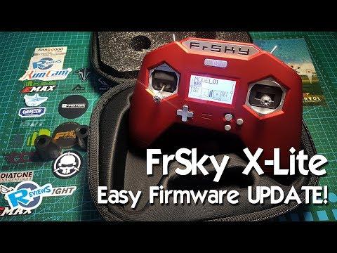 FrSky X-Lite - 3 ways of Firmware update - EASY! | AudioMania lt