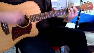The Beatles №5 - The Long And Winding Road- acoustic guitar cover by onlyfavoritemusic