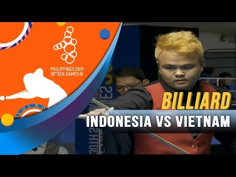 Billiard Indonesia Vs Vietnam - SEA Games 2019