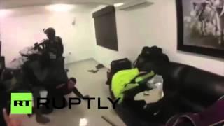 Видео задержания мексиканского наркобарона Эль Чапо