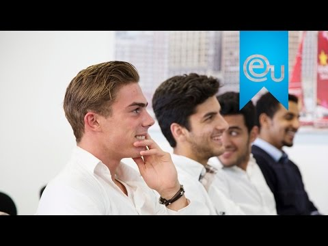 EU Business School Barcelona Industrial Visit to Estrella Damm