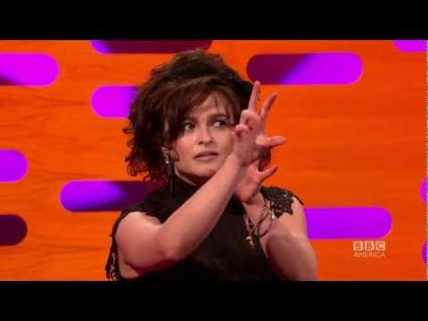 HELENA BONHAM CARTER: Christmas w TIM BURTON! (The Graham Norton Show)