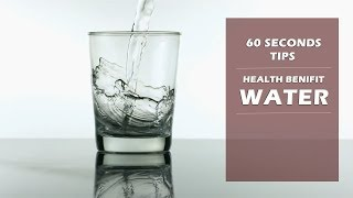 60 SECONDS TIPS || HEALTH BENEFIT OF WATER || by FitGuru ||