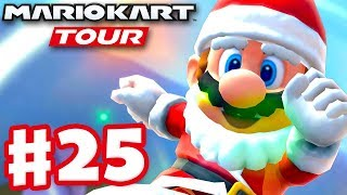 Santa Mario! Winter Tour! - Mario Kart Tour - Gameplay Part 25 (iOS)