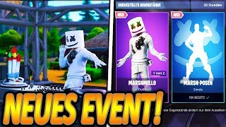 UFF😍... NEW MARSHMELLO SKIN ! [✖ - ✖]🔥 | MARSHMELLO LIVE EVENT STARTET🎉 | Fortnite Battle Royale