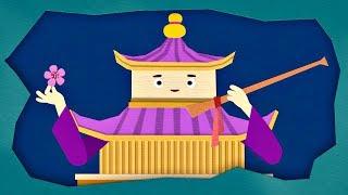 Домики - Кинкаку-дзи (29 эпизод) | Мультики про домики