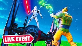Star Wars x FORTNITE Event Live *NOW*