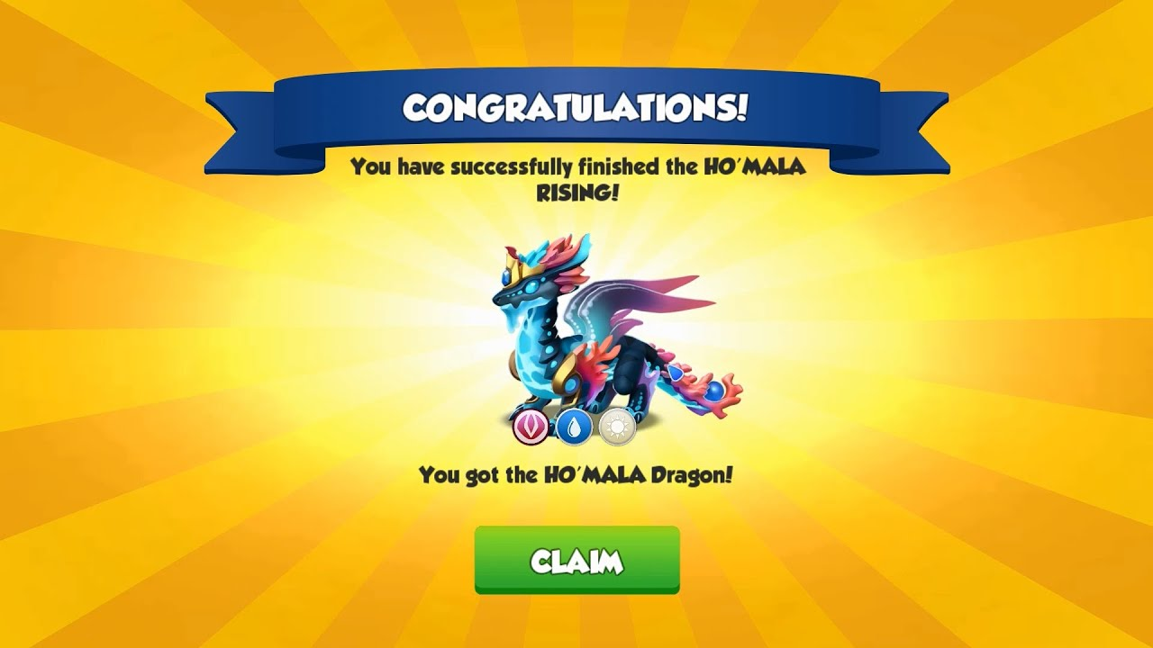 HO'MALA Dragon is Arrived - Dragon Mania Legends