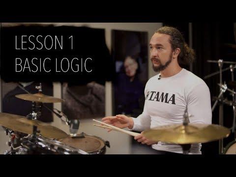 Double Bass Drum Lesson 1 - Basic Logic