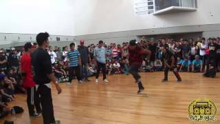 RYTHM INVADE VS UNIK BREAKERS VS DEJAVU NACIONAL HIPHOP MEXICO 2013