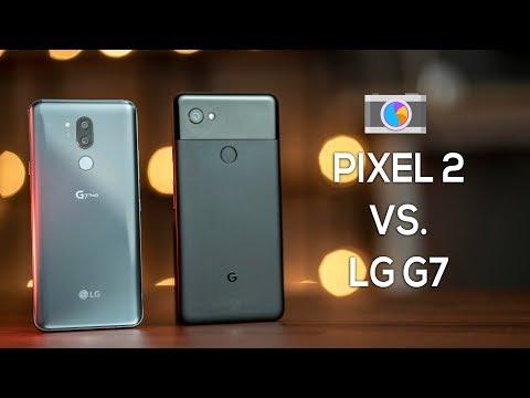 LG G7 ThinQ vs Pixel 2 Camera Comparison!