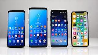 Samsung Galaxy S9 vs. Galaxy S9+ vs. Galaxy S8 vs. Apple iPhone X: Benchmark | SwagTab