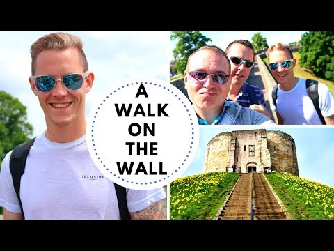 A DAY IN YORK ENGLAND - LODGEGUYS VLOG