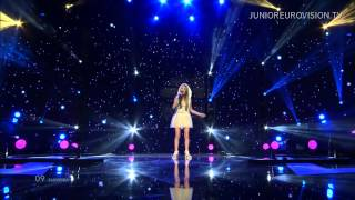 Ula Ložar - Nisi sam / Your Light (Slovenia) LIVE Junior Eurovision Song Contest 2014