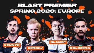 CS:GO Best Moments | BLAST Premier Spring Series 2020: Europe | Вулкан Киберспорт