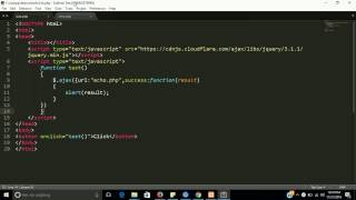 Click event in php | learn  php step by step