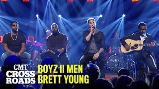 'Mercy' Boyz II Men & Brett Young | CMT Crossroads