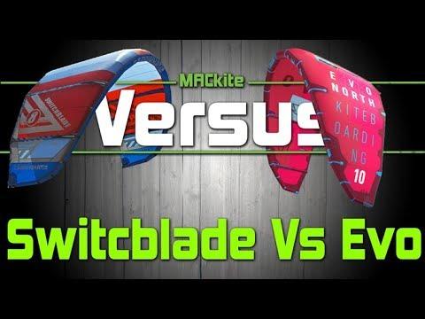 North Evo Vs Cabrinha Switchblade - Versus Ep 06 - MACkiteboarding.com