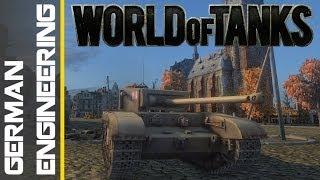 World of Tanks - German Engineering
